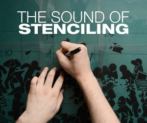 The Sound Of Stenciling – Making of a Stencil