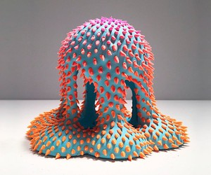 The oddly shaped sculptures of Dan Lam