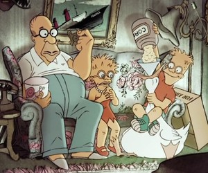 The Simpsons Cough Gag by Sylvain Chomet