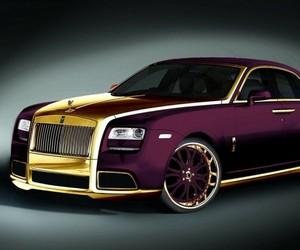 "24 Carat Gold Rolls-Royce Ghost ""Paris Purple"""