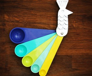 Unique Kitchen Measuring Spoons and Cups