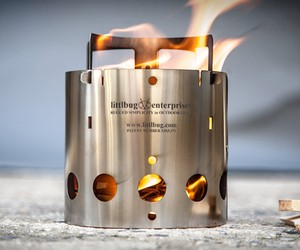 Ultralight Collapsible Backpacking Stove