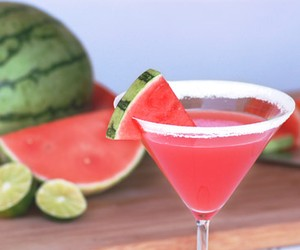 Sweet Summery Watermelon Martini