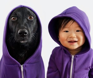 """Zoey and Jasper – A Rescue Dog and her little Boy"